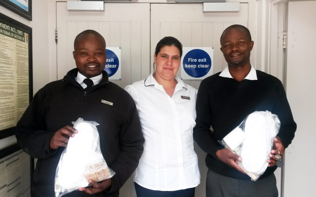 Village n Life Donates Slippers to Shelters