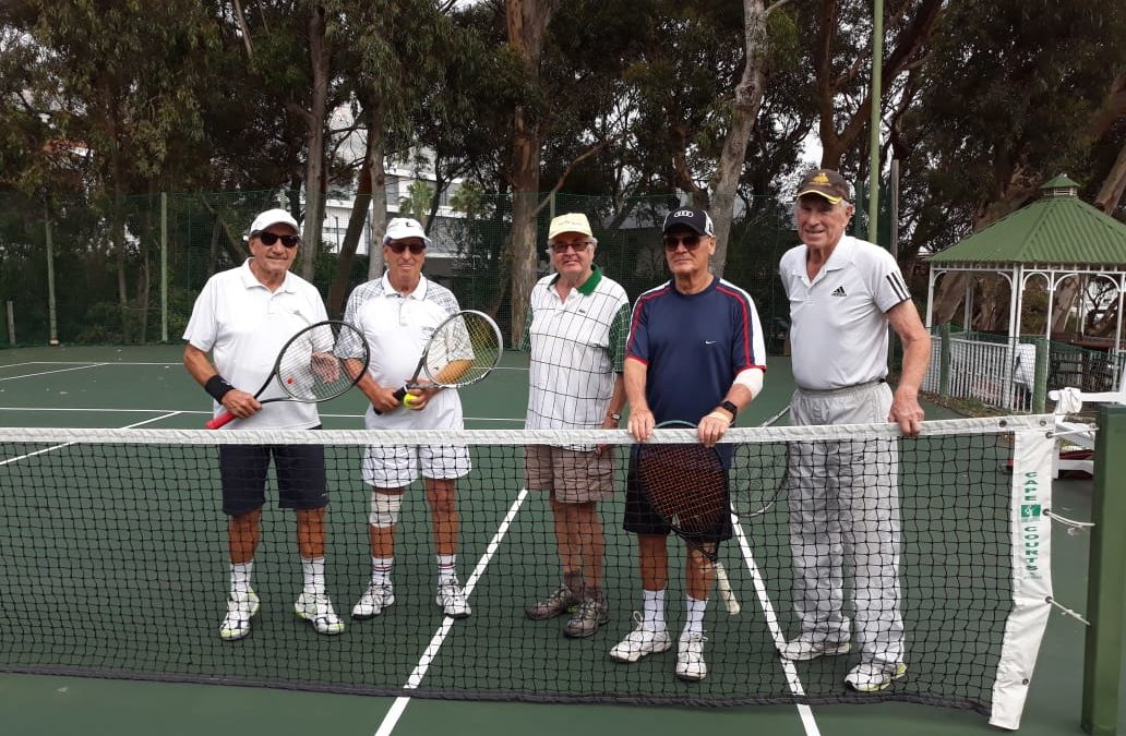 Decades of Tennis and Friendship at Camps Bay Retreat